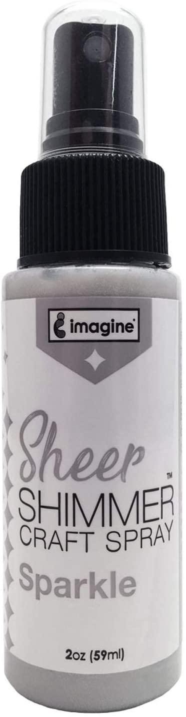 Imagine Crafts Sheer Shimmer Spritz Spray, Sparkle