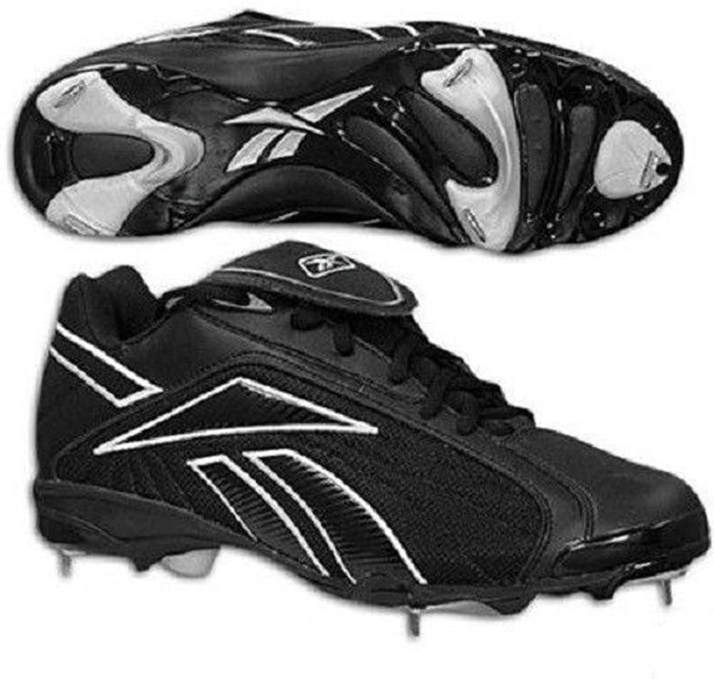 Reebok VERO FL M5 MID II 18-157281 Black Baseball Shoes Men US Size 6.5