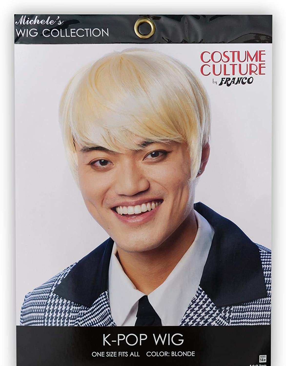 Franco K Pop Boy Band Costume Wigs Adult One Size