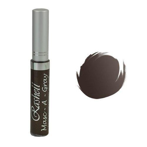 (3 Pack) RASHELL Masc-A-Gray Hair Color Mascara - Warm Brown