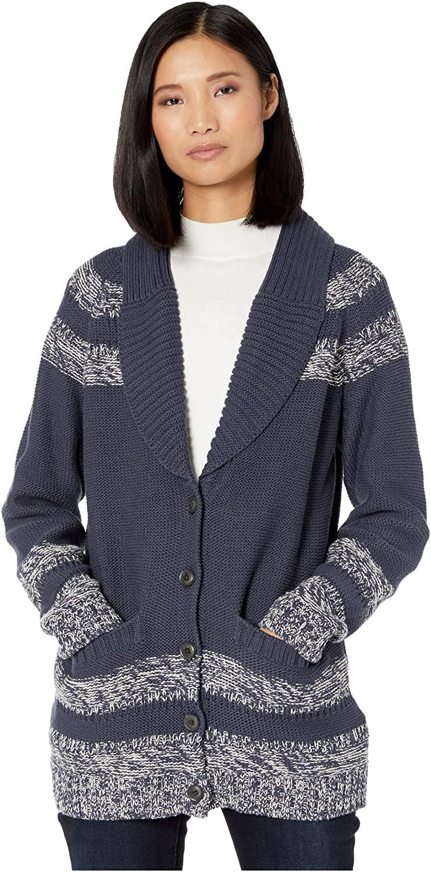 Pendleton Women's Indigo Diamond Cardigan Sweater