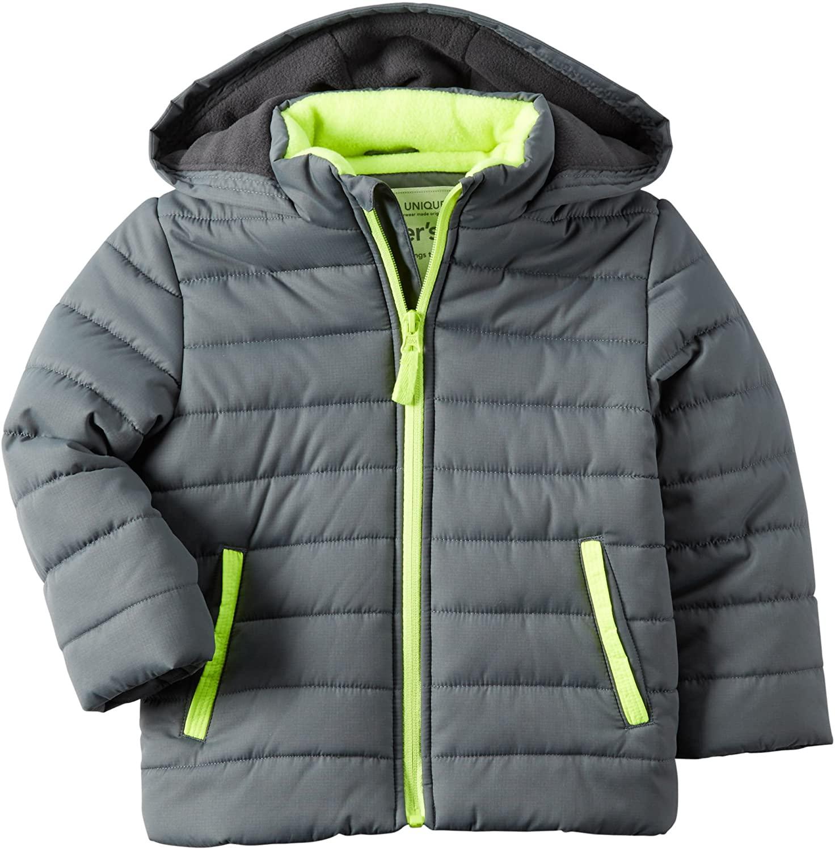 Carter's Boys Fleece-Lined Puffer Jacket