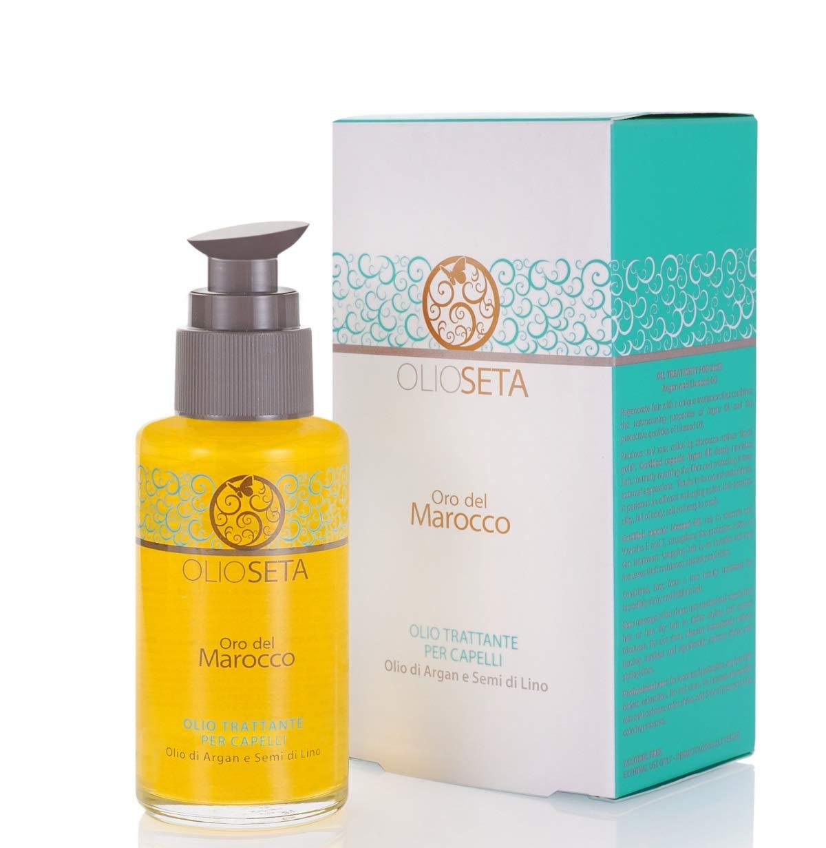 Barex Italiana Olioseta oro del Marocco Oil Treatment for Hair (3.38 fl.oz.)