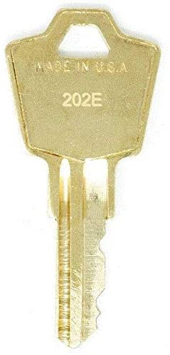 HON 202E File Cabinet Replacement Keys: 2 Keys