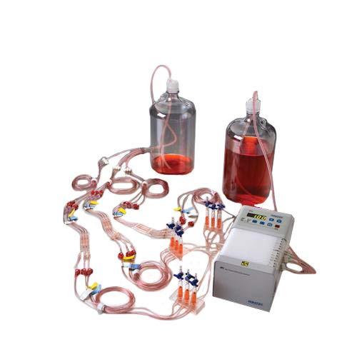 IBI Scientific ACCFL0010 Culture Media Bottle Including Tubing and Fixtures, Autoclavable, 10L Volume
