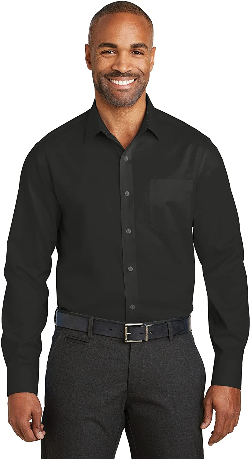 Red House Slim Fit Non-Iron Twill Shirt-RH80-S