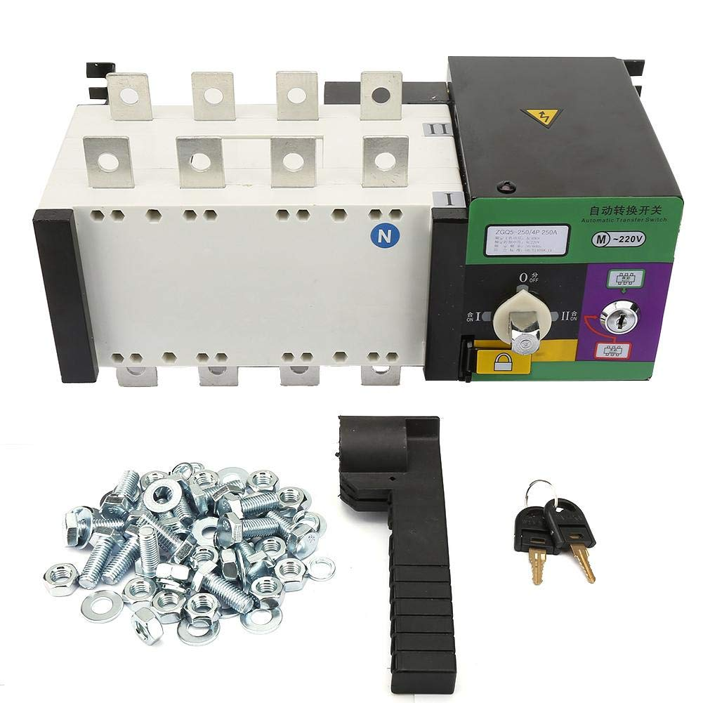 Transfer Switch, 4P 250A Isolation Type Dual Power Automatic Transfer Switch