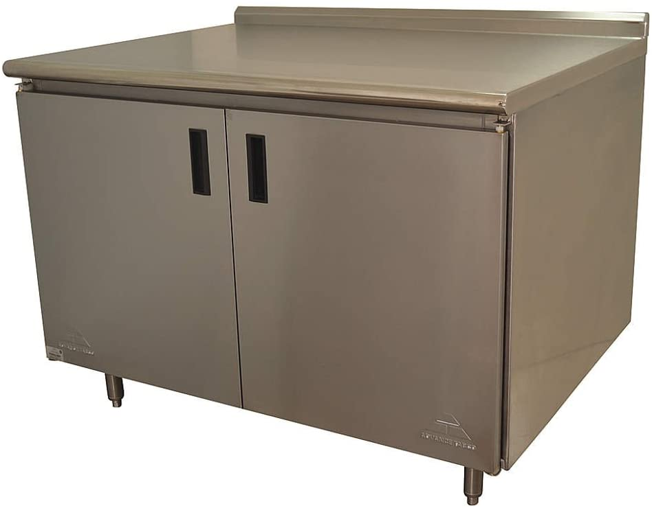 Enclosed Base Work Table, 35x60x30 In