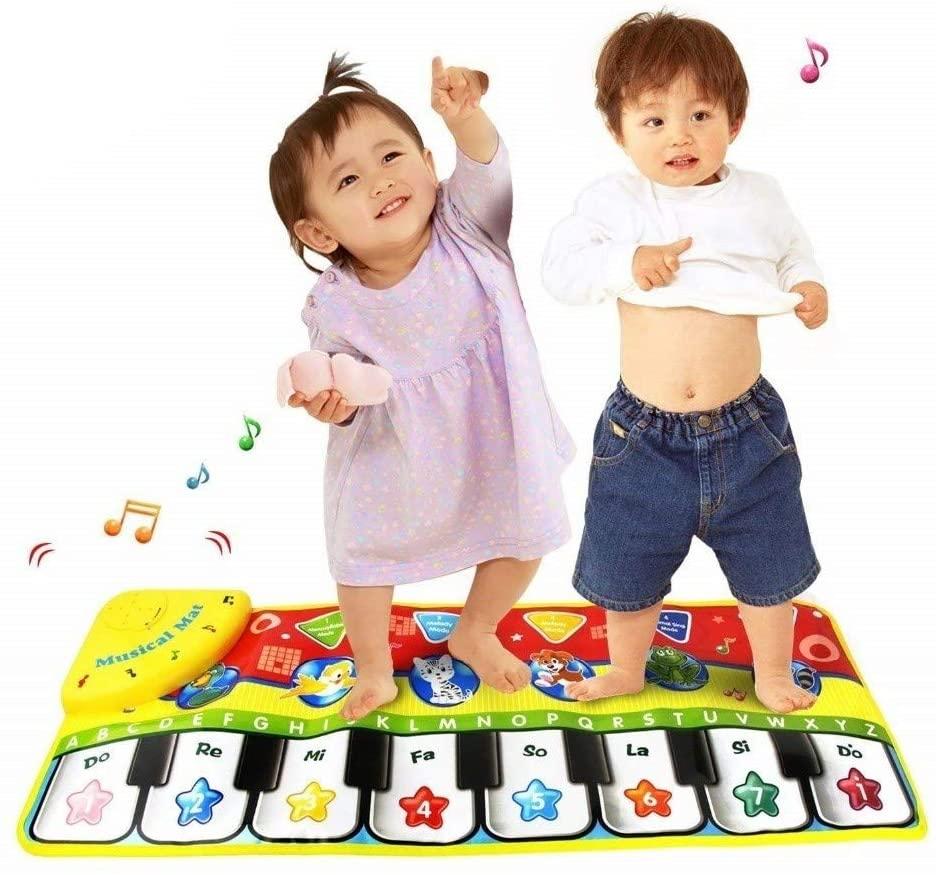 ZRSJ Senior Care Baby Play Mat, 70x27CM Baby Piano Mat Play Mat Baby, Educational Toys Play Mat for Baby for Bedroom Living Room Games Room Custom Game (Size : 70x27cm)