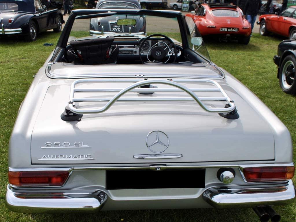 Mercedes Benz SL Pagoda W113 Luggage Rack Rack - Unique Design, No Clamps, No Paint Damage : Revo-Rack PA