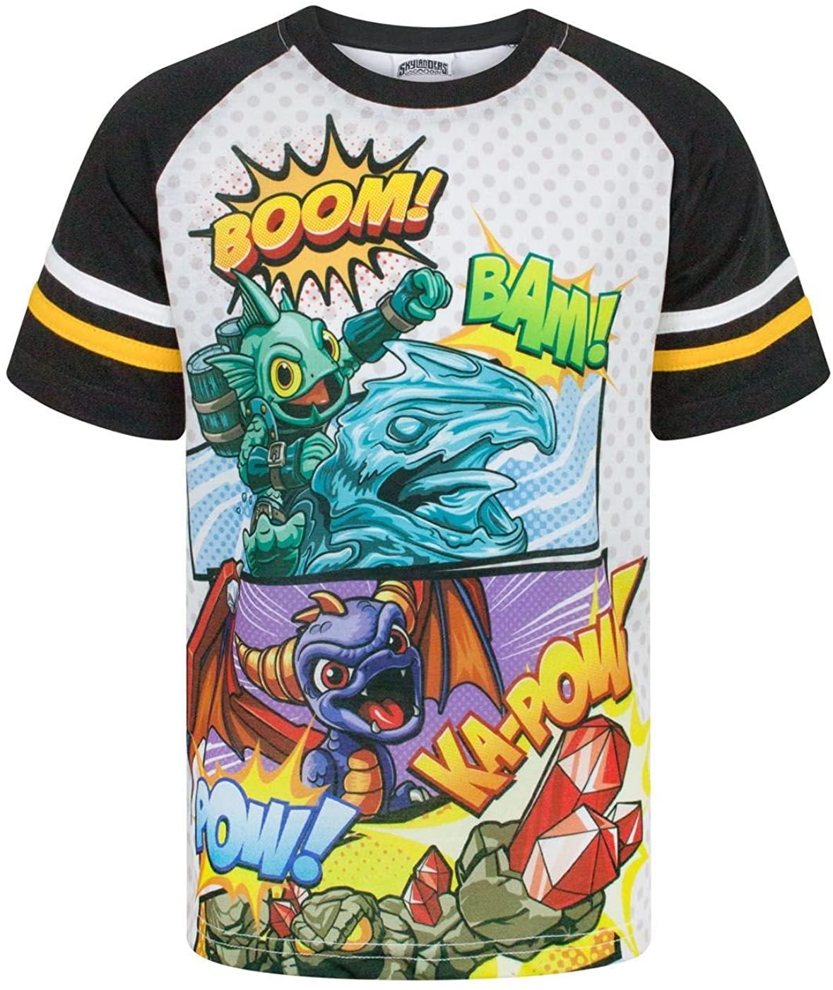 Skylanders Boom Boy's Raglan T-Shirt