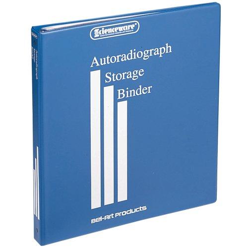 Bel-Art Scienceware 135530000, Gel Binder with 10 Sheet Protectors for 14