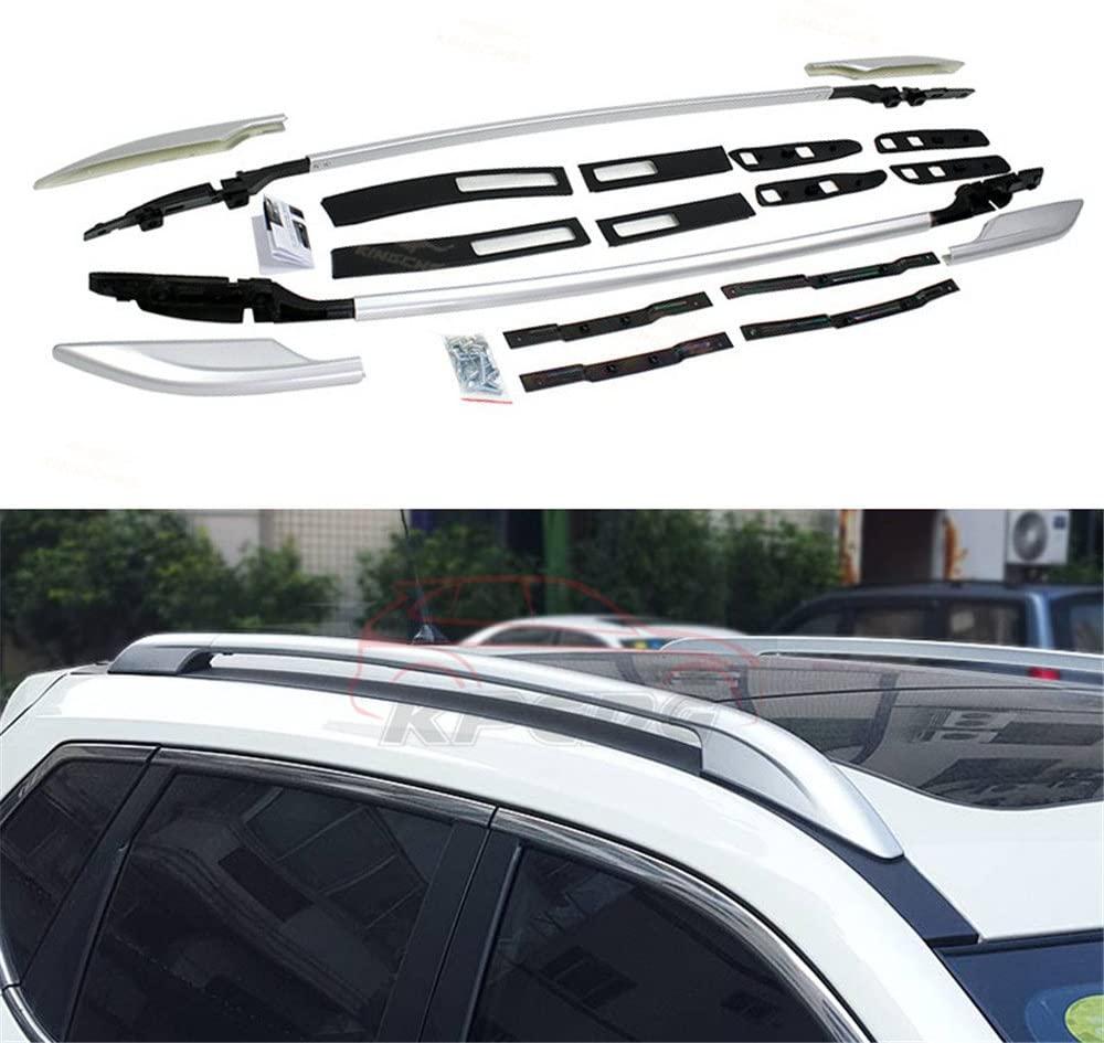 KPGDG Fit for Nissan X-Trail Rogue 2014-2020 2 Pcs Aluminium Roof Rail Roof Rack Side Rail Bar