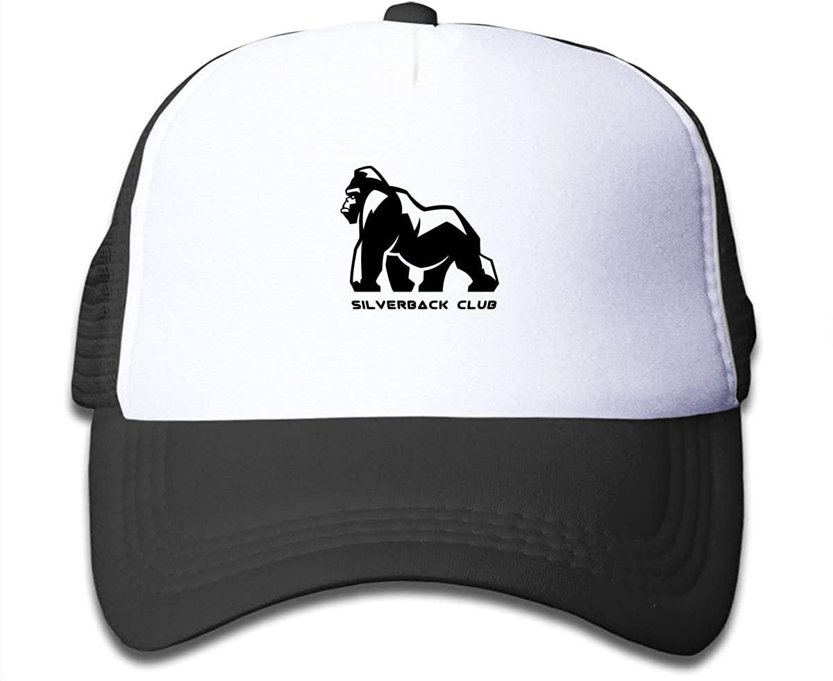 Save The Gorillas Children's Adjustable Mesh Hats Baseball Trucker Cap for Boys and Girls