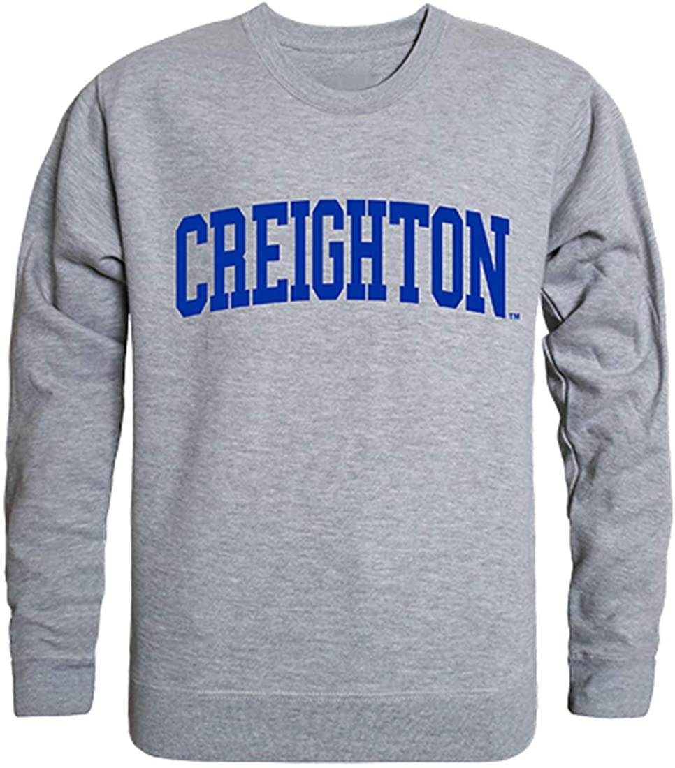 W Republic Creighton Bluejays NCAA Men's Game Day Crewneck Fleece Sweatshirt