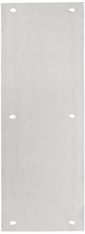Rockwood 70B.32D Stainless Steel Standard Push Plate, Four Beveled Edges, 15