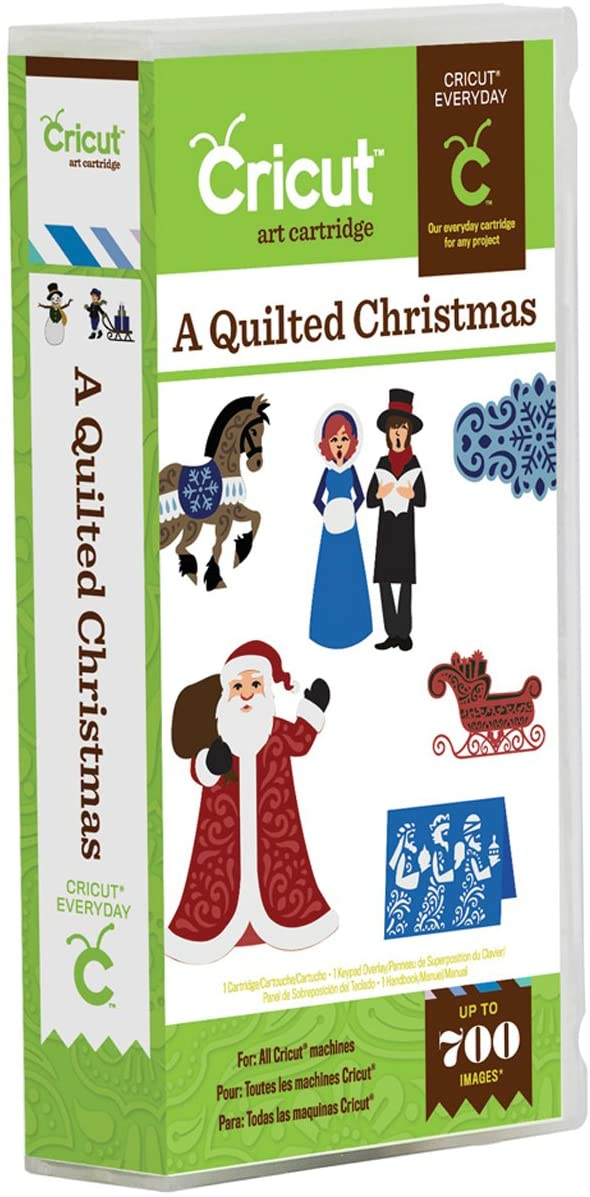 Cricut 2001189 A Quilted Christmas Cartridge