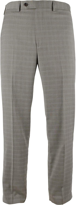 Ralph Lauren Men's Comfort Flex Flat Front Slim Fit Dress Pants