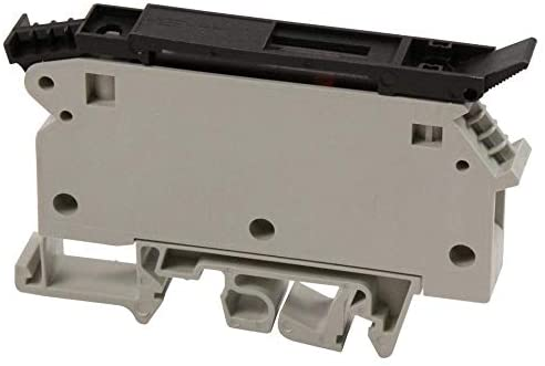 57.904.6555.0 - Fused Terminal Block, 2 Positions, 22 AWG, 10 AWG, 6 mm², Screw, 10 A, (Pack of 2)