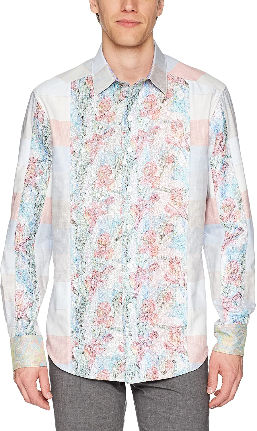 Robert Graham Men's Denim Rays Limited Edition Classic Fit Shirt
