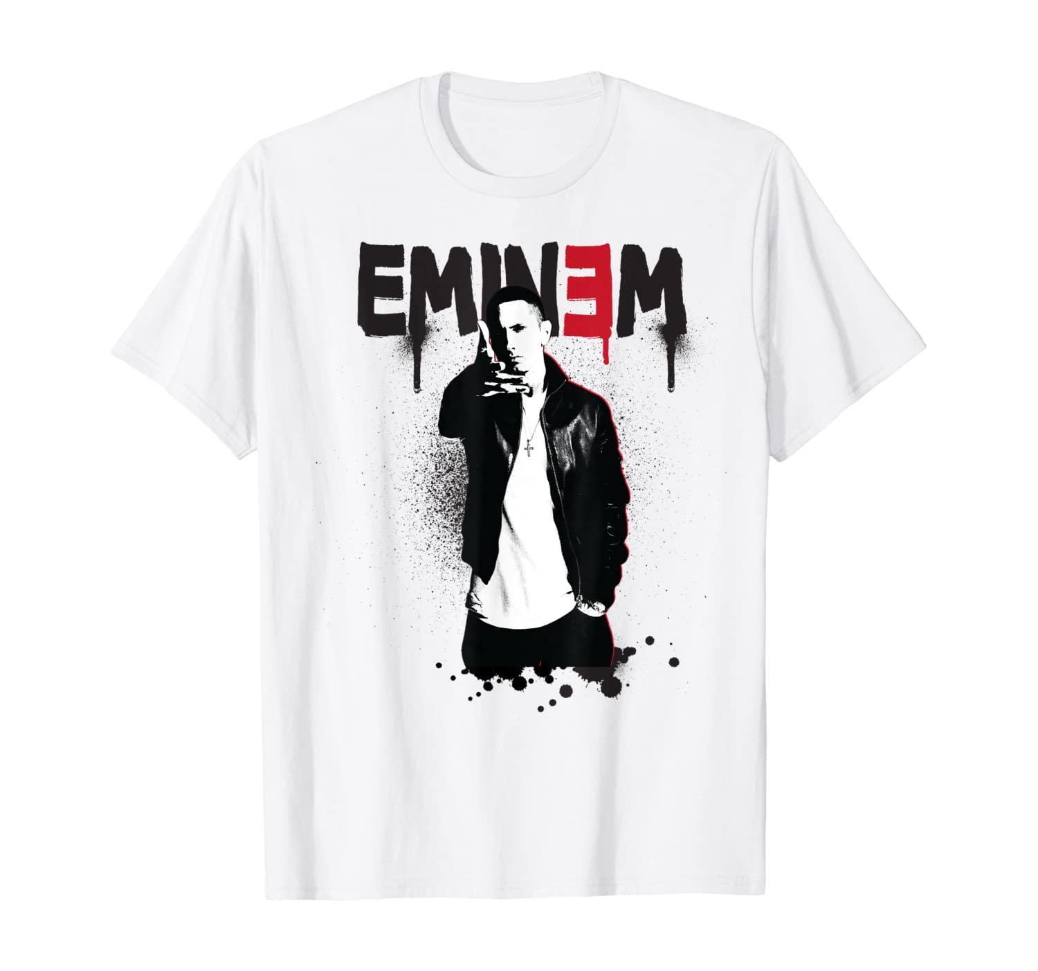 Eminem Official Sprayed Up T-Shirt