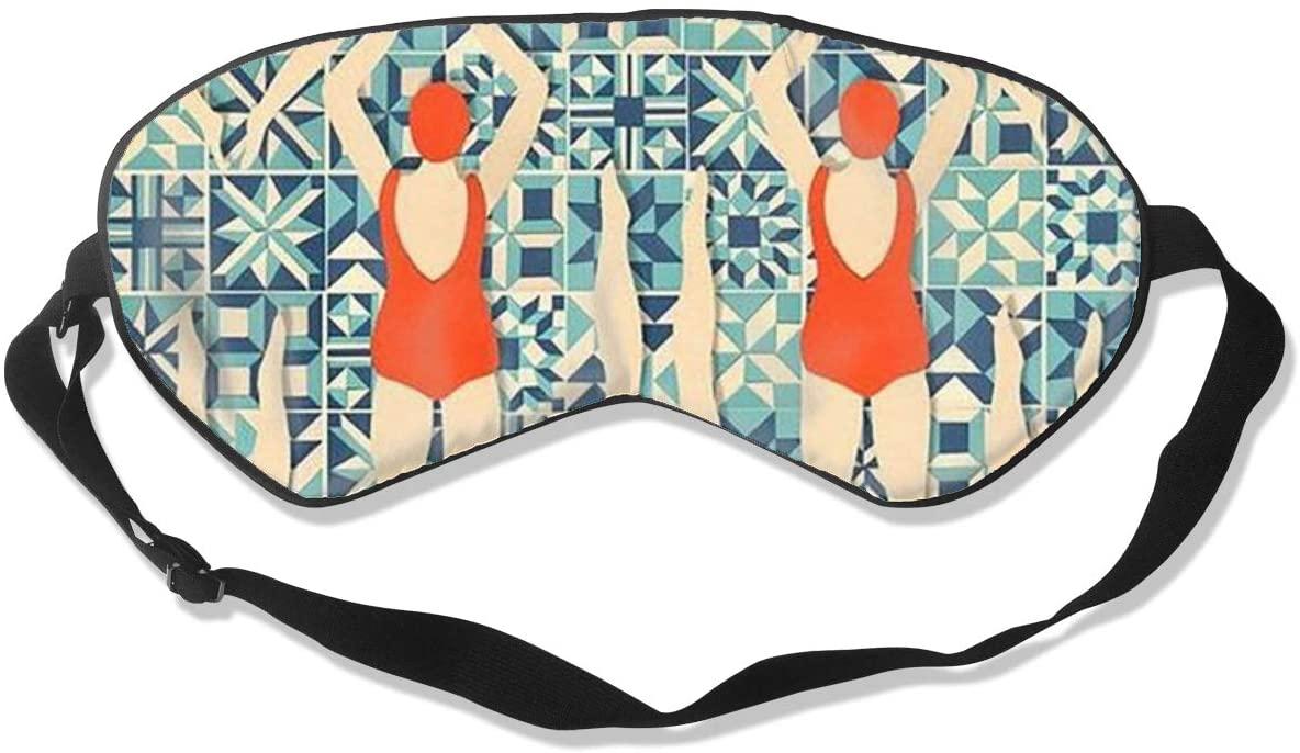 Sleep Eye Mask For Men Women,Swimmers Girl Soft Comfort Eye Shade Cover For Sleeping