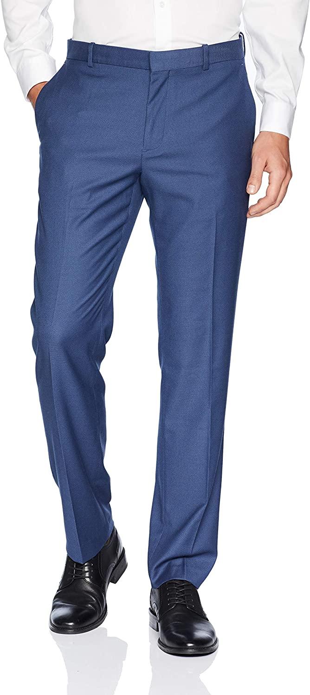 Perry Ellis Men's Stretch, Heather Texture Dress Pant