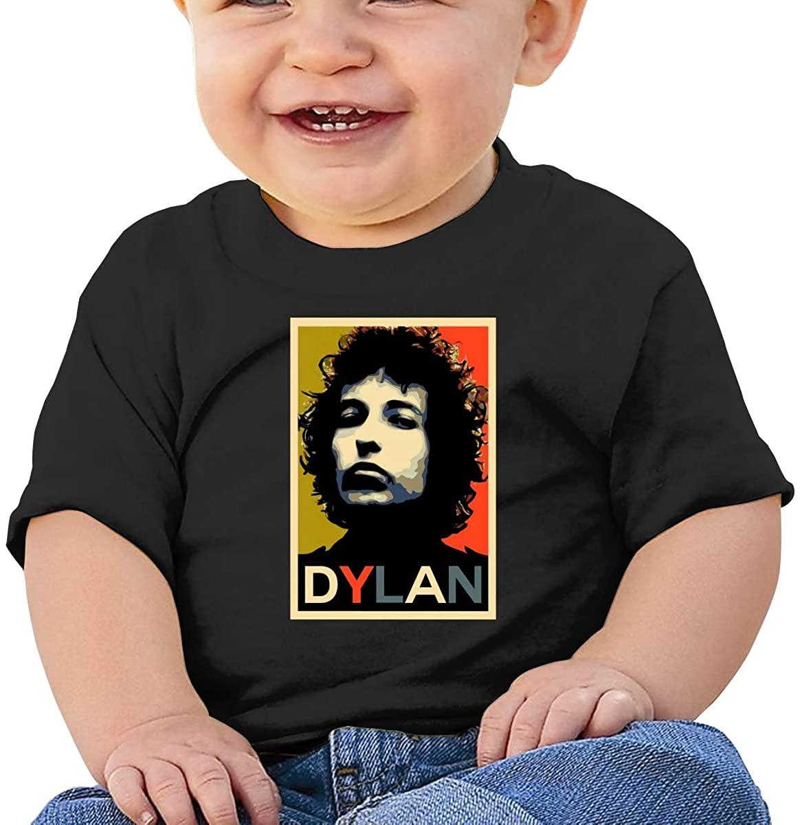 Funny Bob Dylan Comfortable Baby T-Shirt