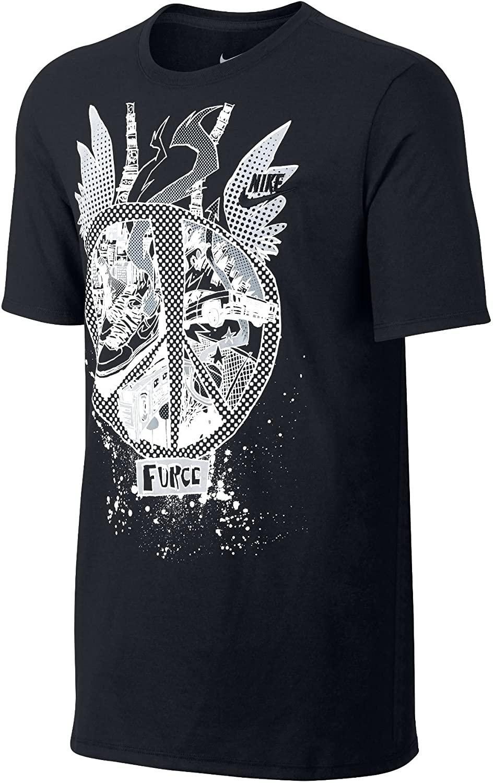 Nike Men's QT S+ AF1 Jungle Tee Black 717371-010