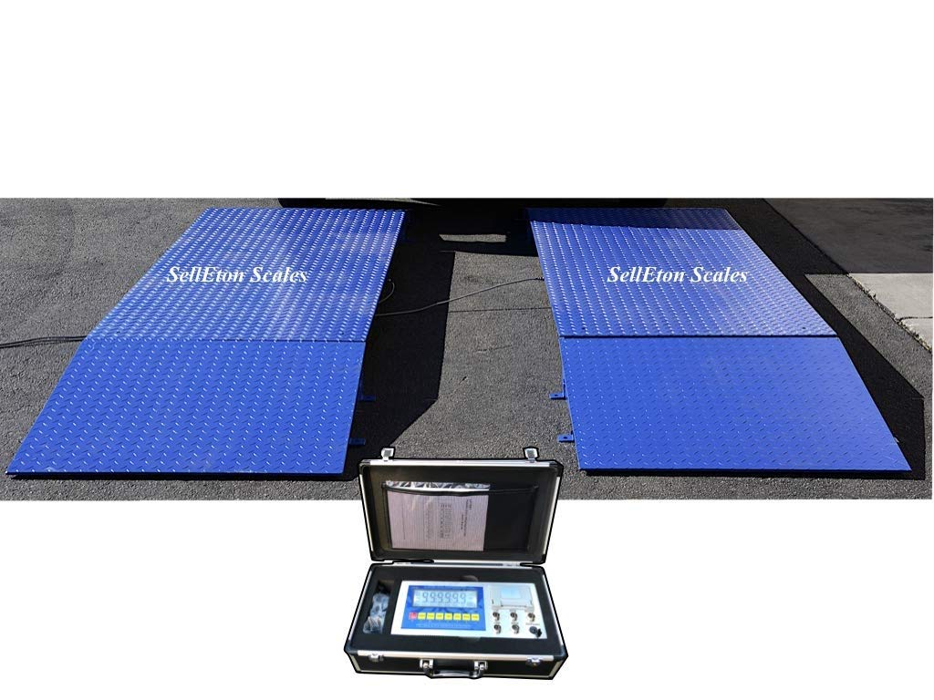 Selletons Axle Scales 60000 Lbs (84