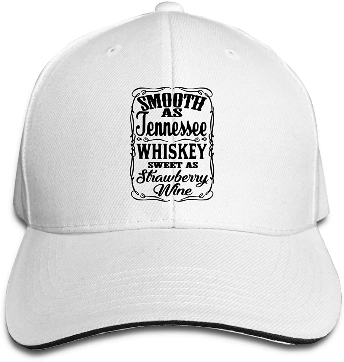 Woman Boys Classic Pointed Cap Hats Smooth As Tennessee Whiskey 2