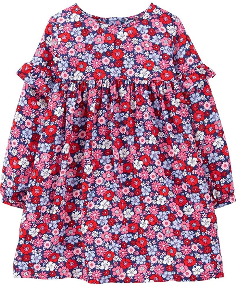 Carter's Baby Girls, Floral Drapey Dress