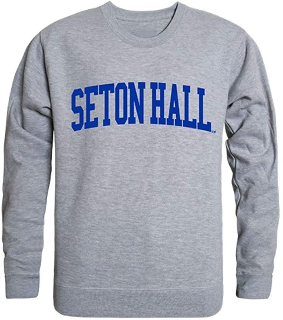 SHU Seton Hall University Game Day Crewneck Pullover Sweatshirt Sweater