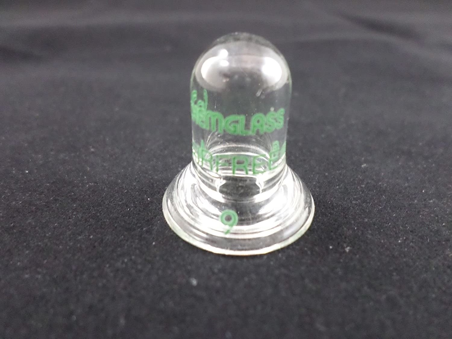 Chemglass AF-0451-05 Series AF-0451 Stopper, Cap Style, Airfree, Schlenk, 9 O-Ring Joint