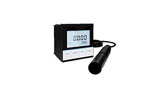 GAOTek Industrial Online Conductivity Controller|Platinum Conductivity Electrode|1-3 Points Calibration|4-20mA outputs|Suitable for Monitoring Conductivity TDS Water Quality|COND-113