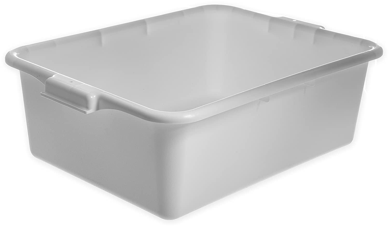 Carlisle N4401102 Comfort Curve Ergonomic Wash Basin Tote Box, 7