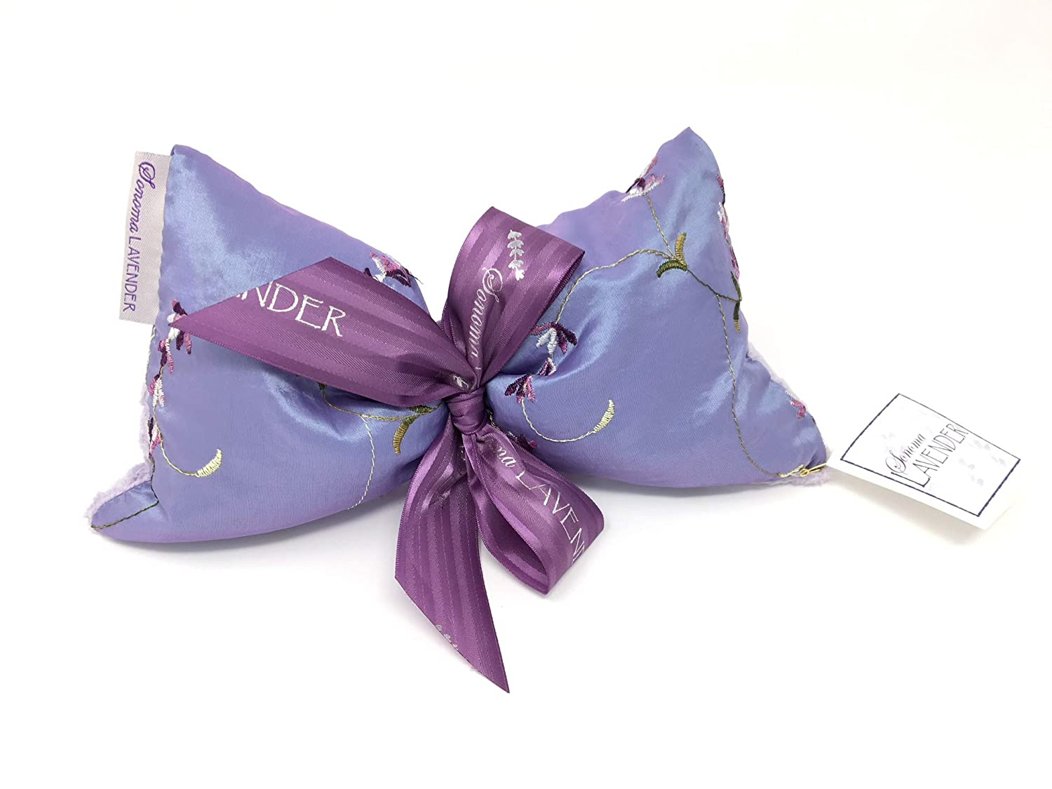 Sonoma Lavender Eye Mask - Embroidered Lavender