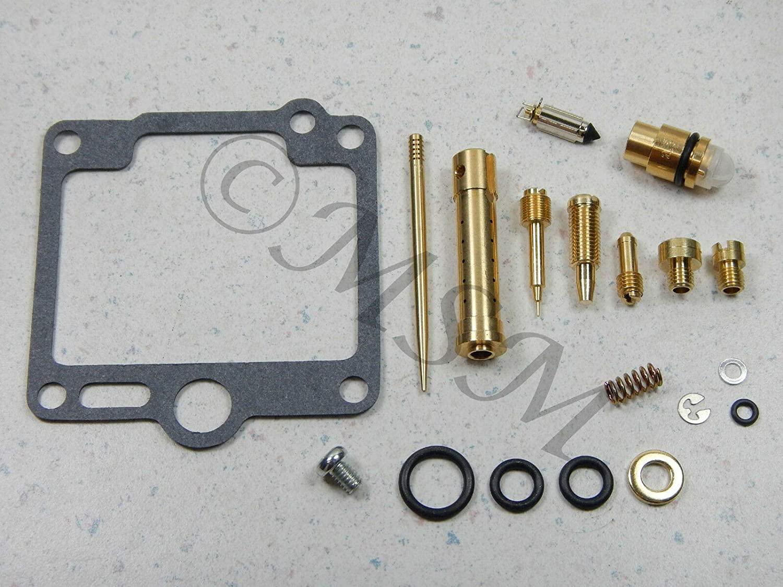 RW 0201-312 Carburetor Rebuild Repair Parts Kit Compatible with Yamaha