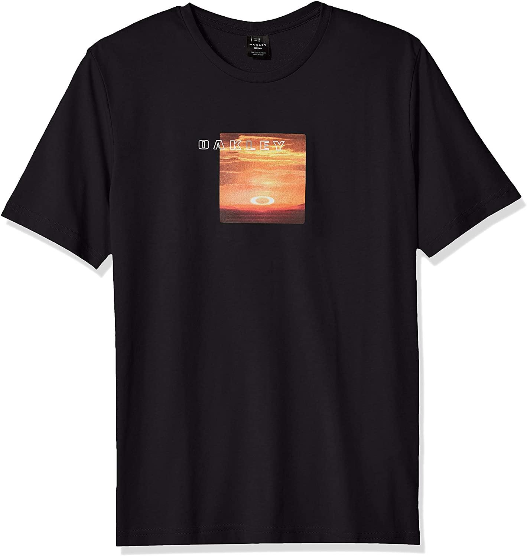 Oakley Mens Men's Sunset Print Tee