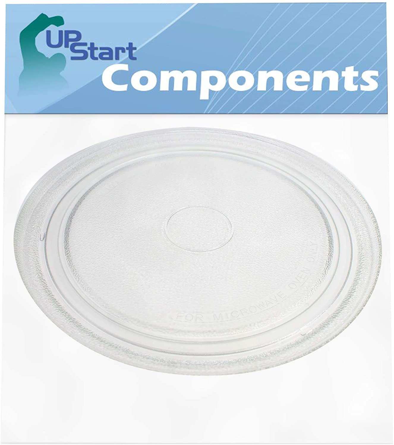 NTNT-A034WRE Microwave Glass Turntable Plate Replacement for Sharp R4180YA - Compatible with A034 10 3/4 Inch Glass Tray