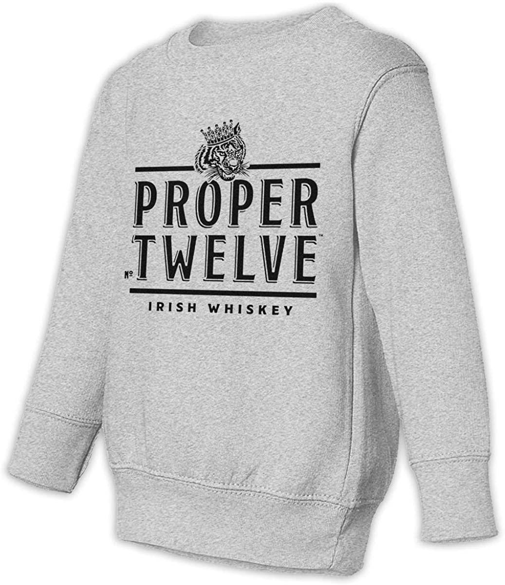 1836 Proper 12 Irish Whiskey Unisex Sweatshirt Youth Boy and Girls Pullover Sweatshirt
