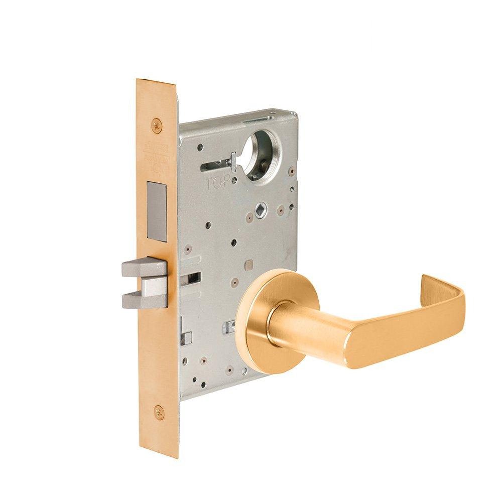 CORBINRUSSWIN ML2030-NSA-612 612 Satin, Lever NSA Newport, Privacy/Bed/Bath, Steel; Stainless Steel; Bronze