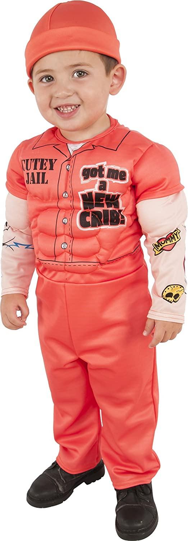 Rubies Costume 630956-M Childs Muscle Man Prisoner Costume, Medium, Multicolor