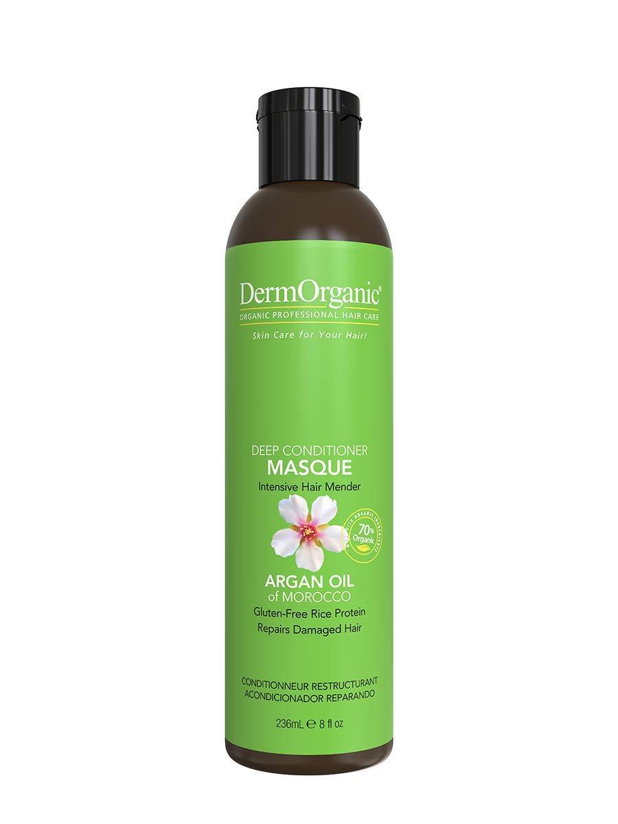 DermOrganic Deep Conditioning Hair Repair Masque with Argan Oil, 8 fl.oz.