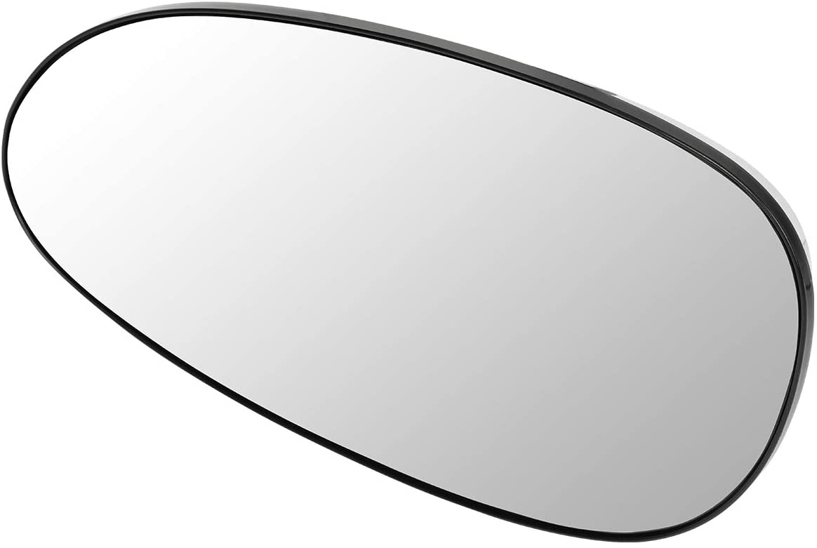 DNA Motoring OEM-MG-0206 12534211 OE Style Driver/Left Heated Mirror Glass
