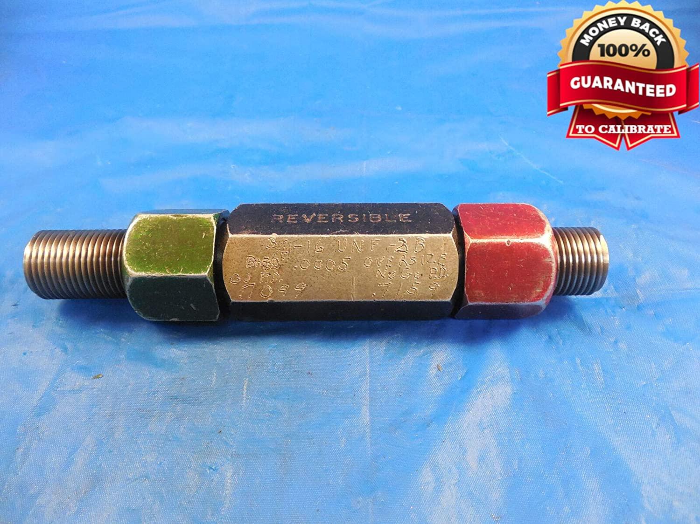 3/4 16 UNF 2B .0005 Oversize Thread Plug GAGE .75 GO NO GO P.D.'S= .7099 & .7159