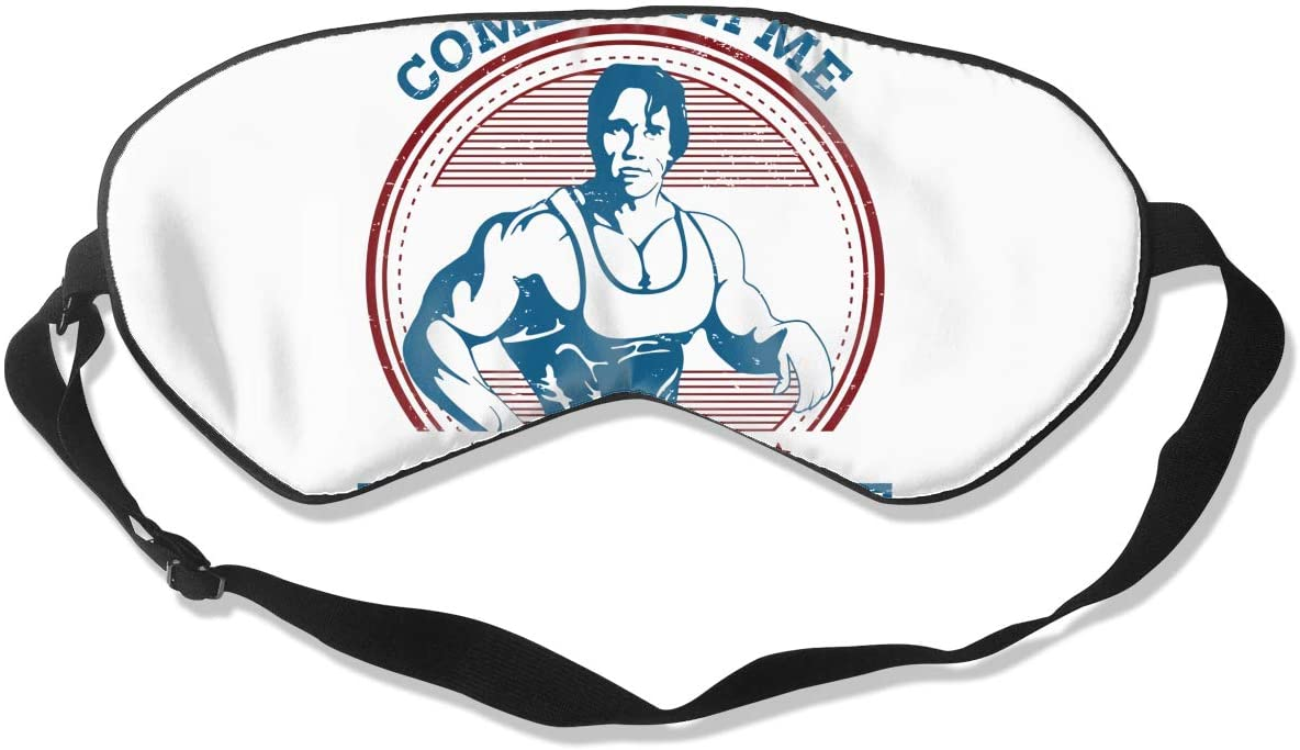 Wehoiweh Arnold Schwarzeneggerbreathable and Comfortable, Silky Skin-Friendly, Ideal Eye Mask for Dry Eyes