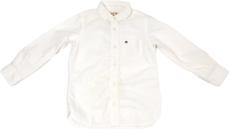 Alex Mill Boys' Classic Oxford Shirt Sz 4 White