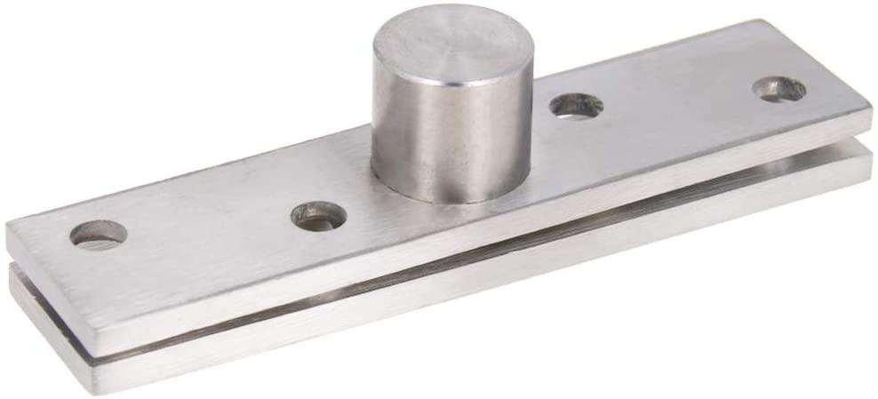 MroMax 1 Sets Stainless Steel 360 Degree Door Pivot Hinge 100 x 24mm