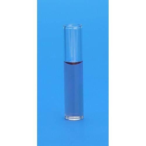 J.G. Finneran Associates 4100-830, Clear Glass Shell Vial (3 Packs of 1000 pcs)